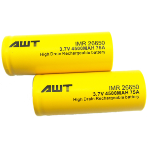 AWT 26650 Battery Cells - Pack of 2