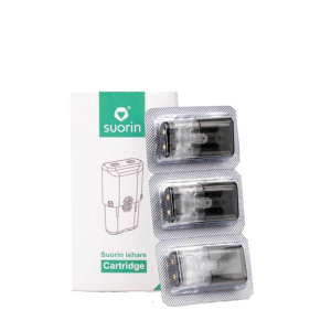 Suorin iShare Replacement Pods - Pack of 3