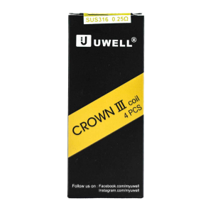 Uwell Crown 3 Replacment Atomizers 4 Pack